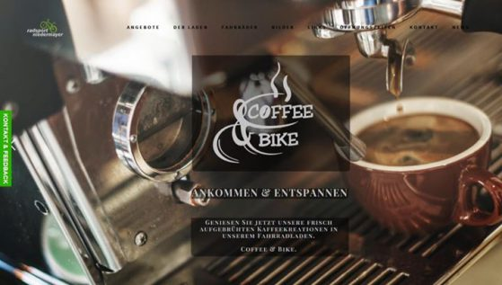 Kaffe und Coffee & Bike